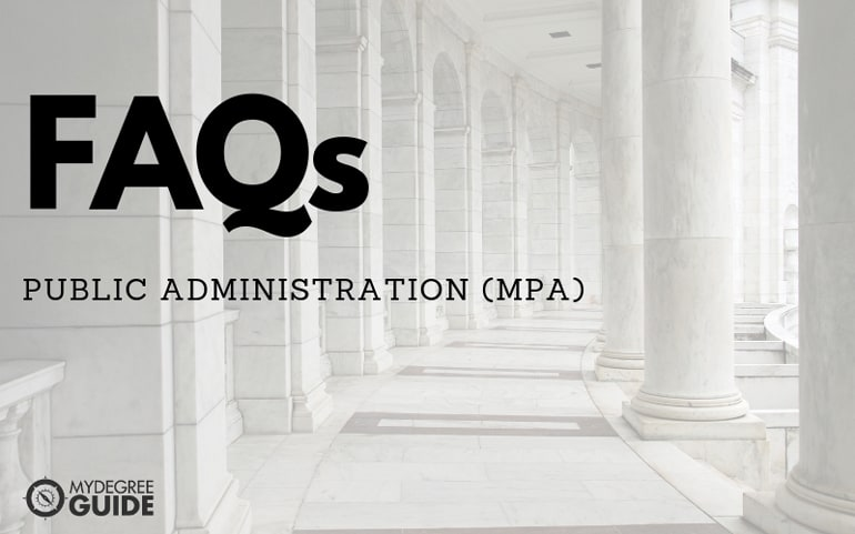 Public Administration FAQs
