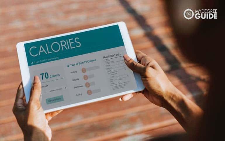 calorie monitoring app