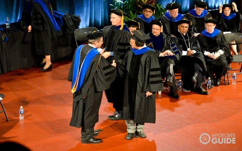PhD graduation ceremonies