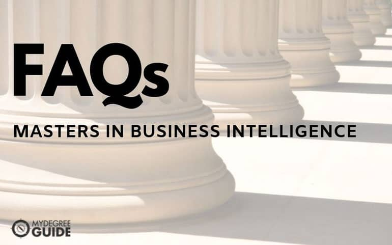 frequently asking questions for masters in business intelligence