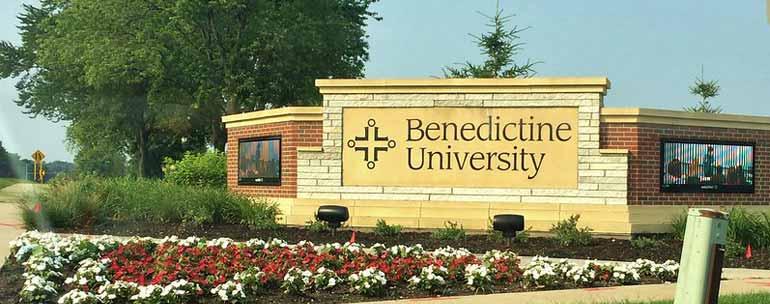 Benedictine University campus
