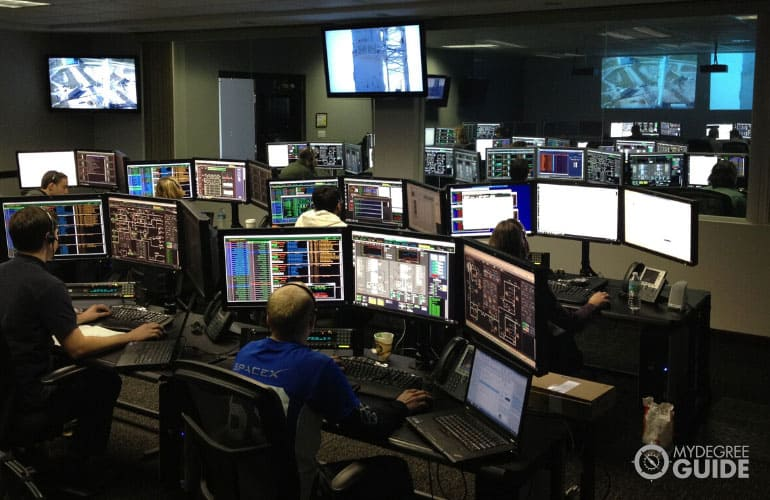 computer science graduates working in space x