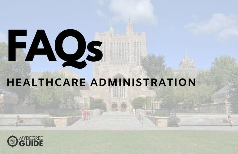frequently asked questions on online phd in healthcare administration degree programs