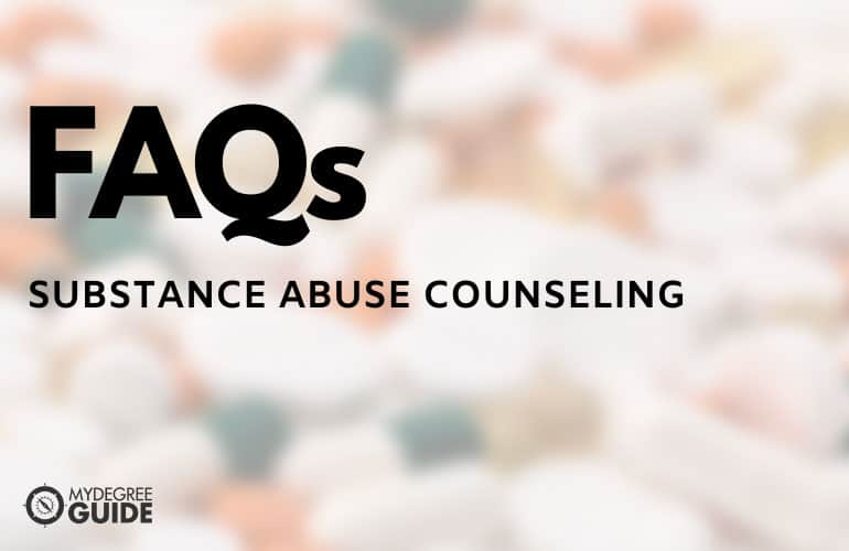 frequently asked questions Best Substance Abuse Counseling Schools Online Programs