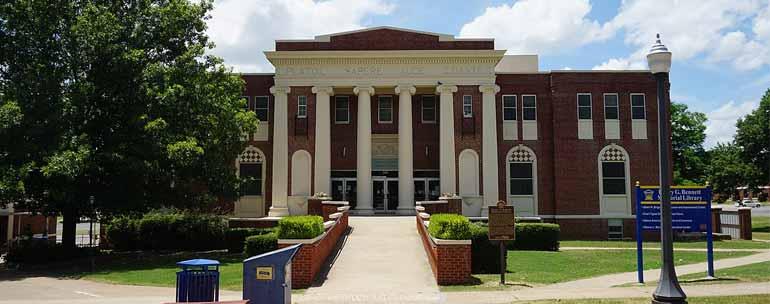 Southeastern Oklahoma State University campus