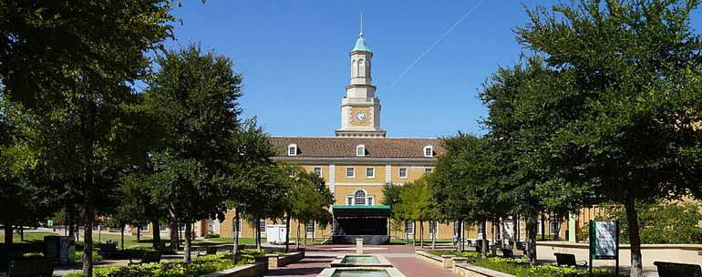 University of North Texas campus