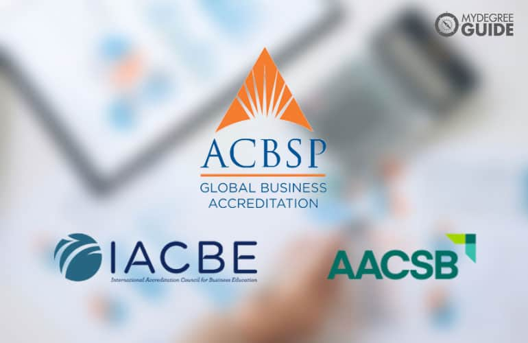 logos of accreditation board