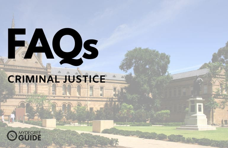 frequently asked questions masters in criminal justice