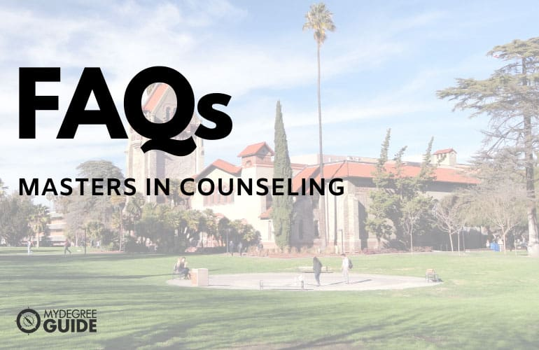 frequently asked questions online masters in counseling