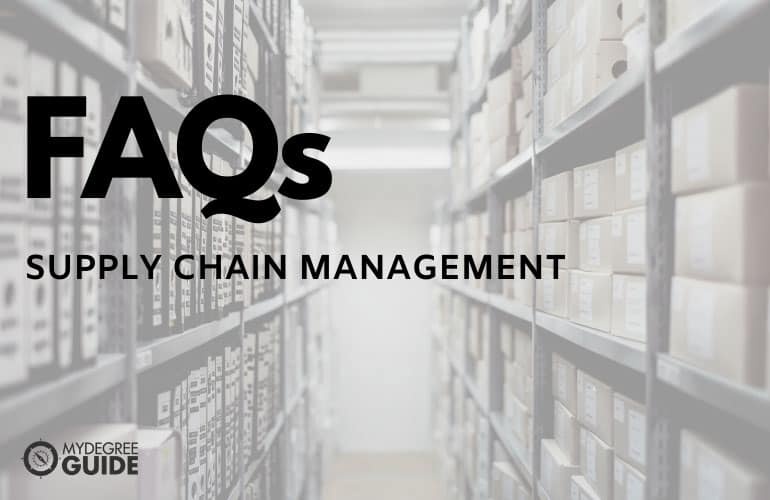 Frequently Asked Questions Masters Degree in Supply Chain Management