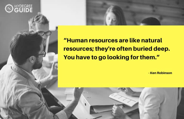 human resources quote by Ken Robinson