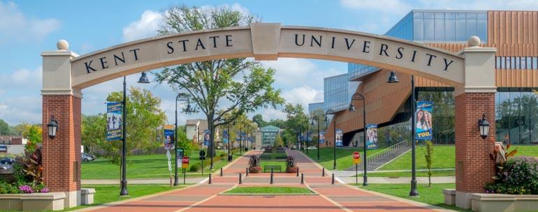 Kent State University campus