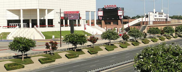 Lamar University campus