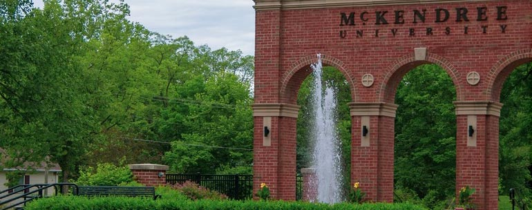Mckendree University campus