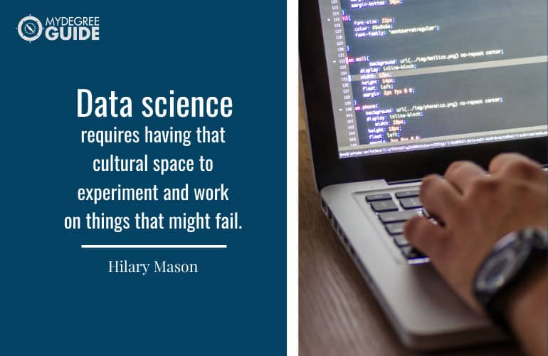 Sample Courses in an Online Data Science Master's Program