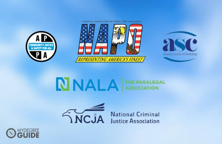 logos of Organizations for Criminal Justice Professionals