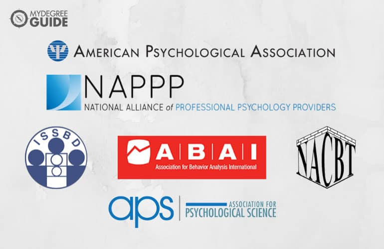 logos of Professional Organizations in Behavioral Psychology