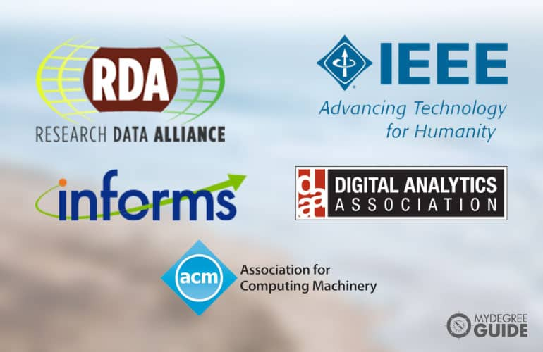 logos of Professional Organizations in Data Science