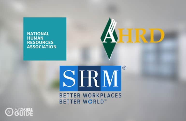 logos of Professional Associations for Masters of Human Resources