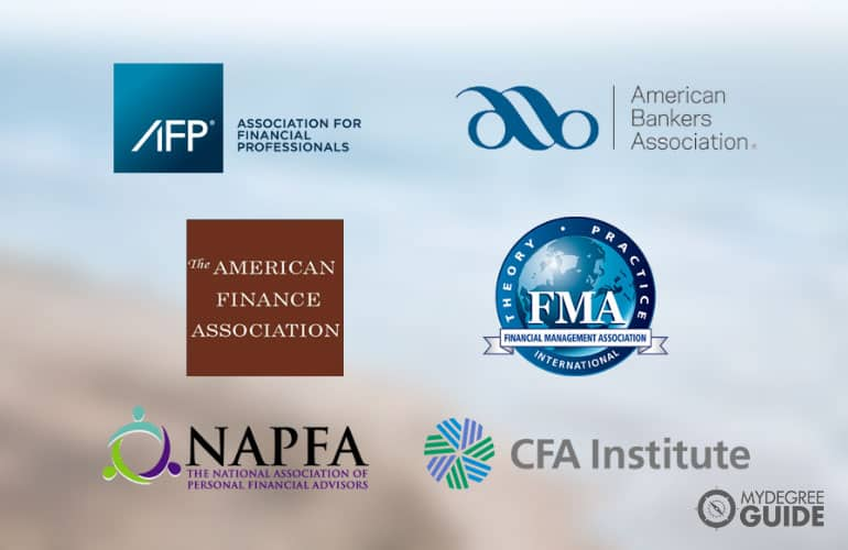 logos for Professional Organizations for Master's in Finance Graduates