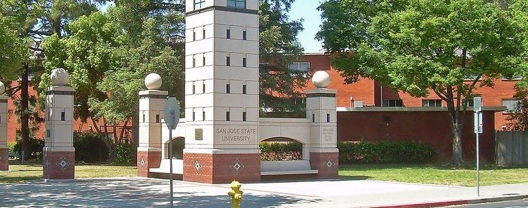 San José State University campus