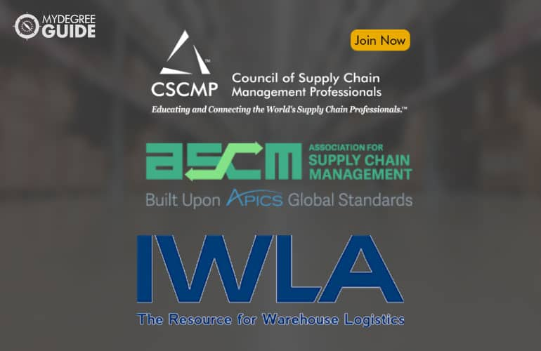 logos of Professional Organizations for Supply Chain Managers