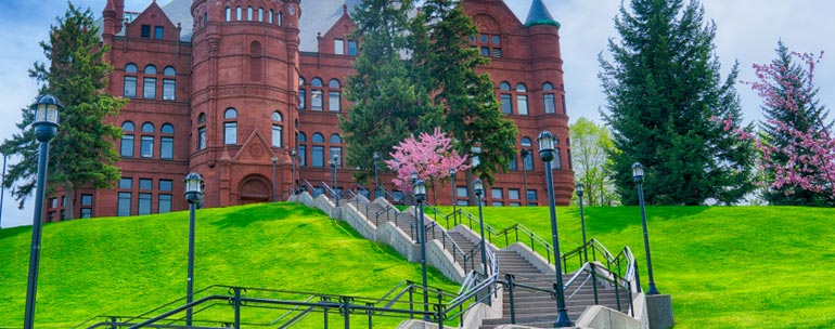Syracuse University campus