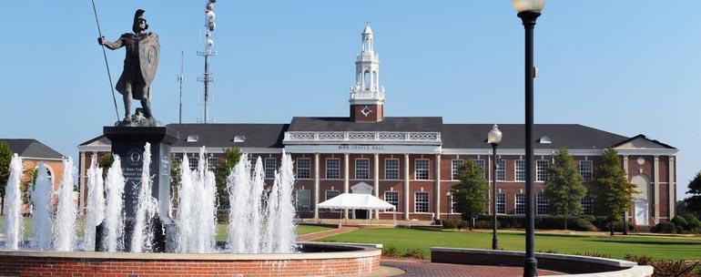 troy university campus