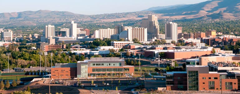 University of Nevada Reno campus
