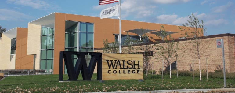 walsh college campus
