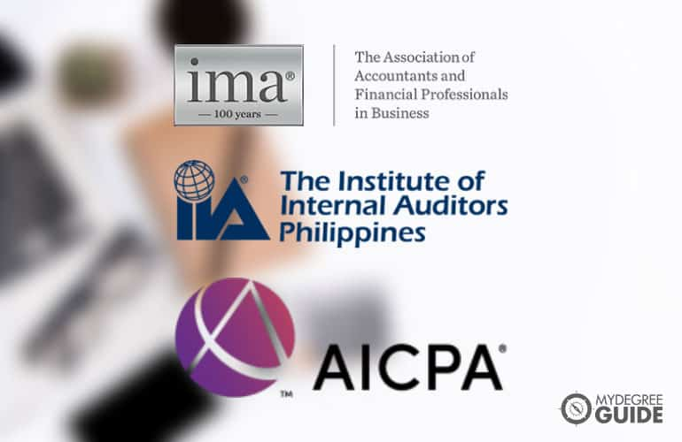 logos of Accounting Professional Organizations