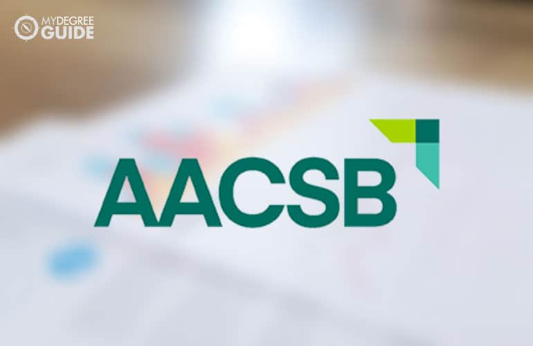 the AACSB logo
