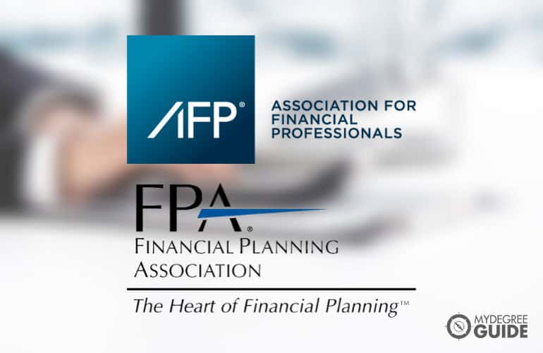 logos of Finance Professional Organizations