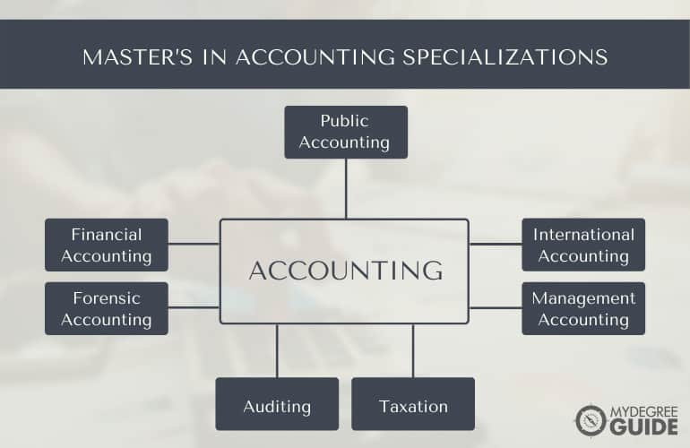 Master's in Accounting Specializations