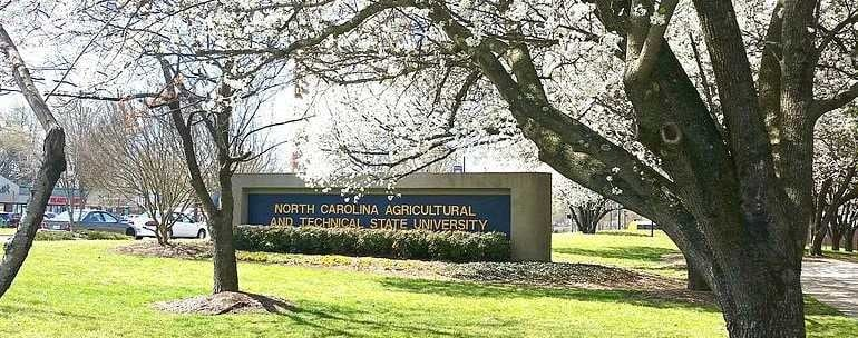 North Carolina A&T State University campus