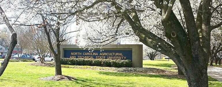 North Carolina A&T State University campus