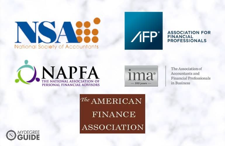 logos of Professional Organizations for Those with a Business Finance Degree