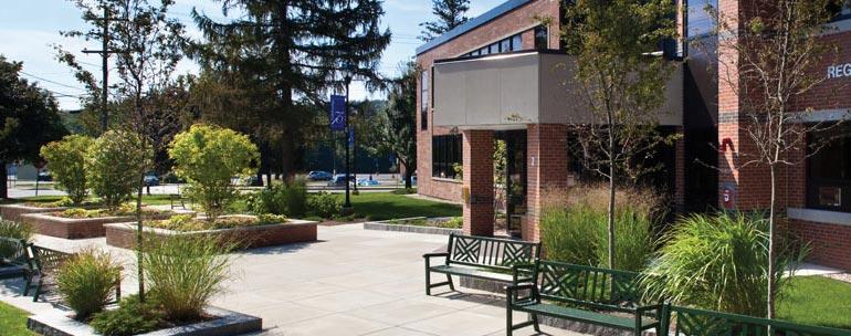 Rivier University campus