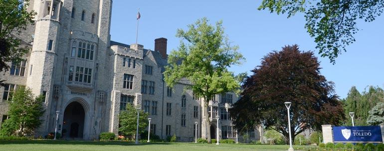 University of Toledo campus