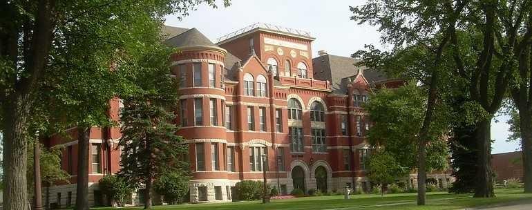 Mayville State University campus