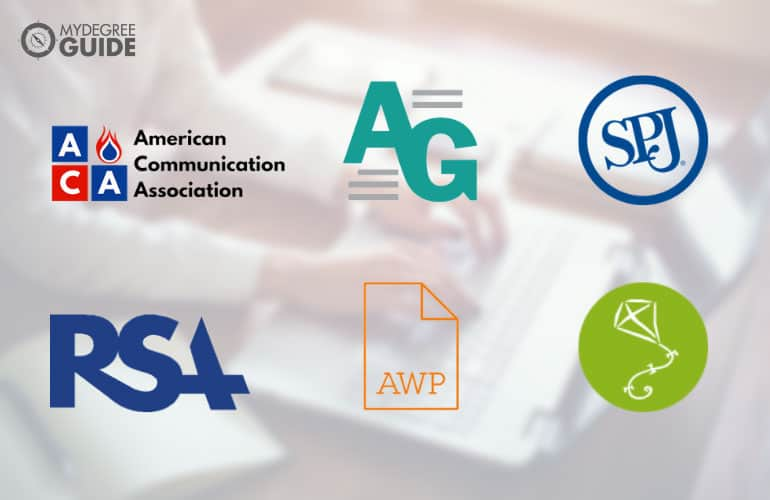logos of Professional Organizations for English Graduates