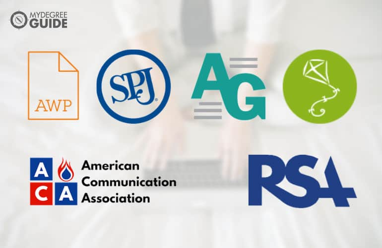 logos of Professional Organizations for Those with an English Degree