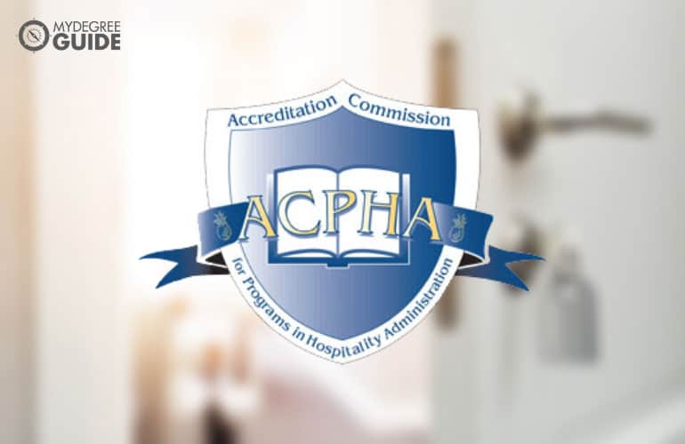 logo of Accreditation Commission for Programs in Hospitality Administration
