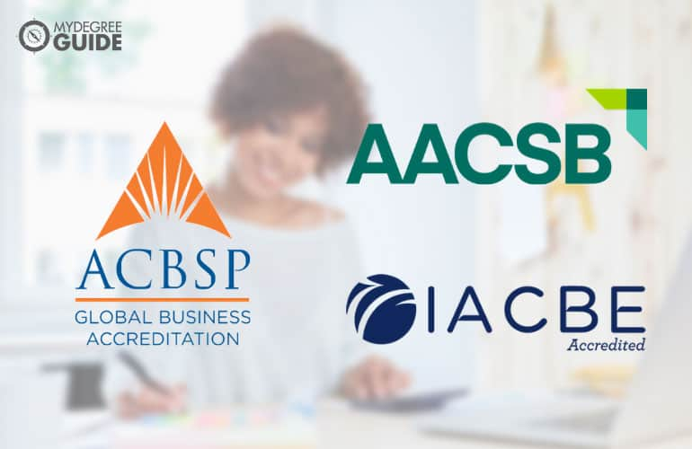 logos of the business school accreditors