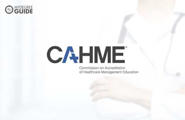 logo of Commission on Accreditation of Healthcare Management Education