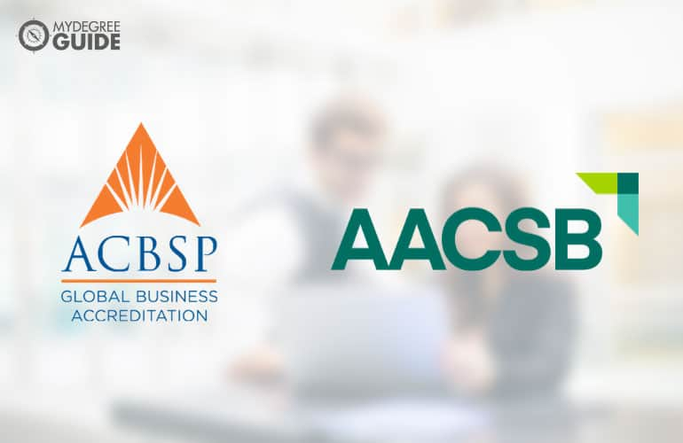 logo of AACSB and ACBSP