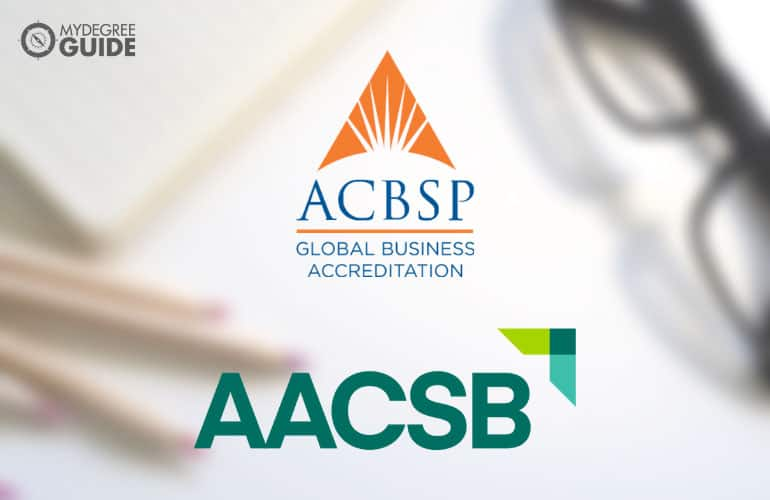 AACSB and ACBSP logo