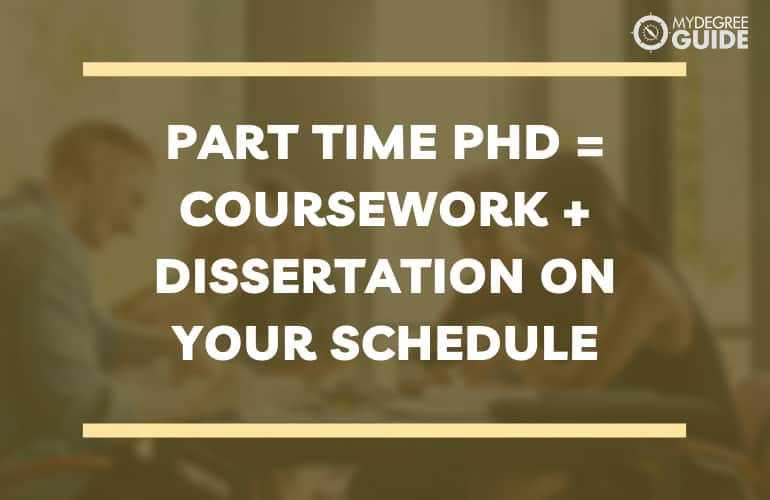 How Do Part Time PhD Degree Programs Work