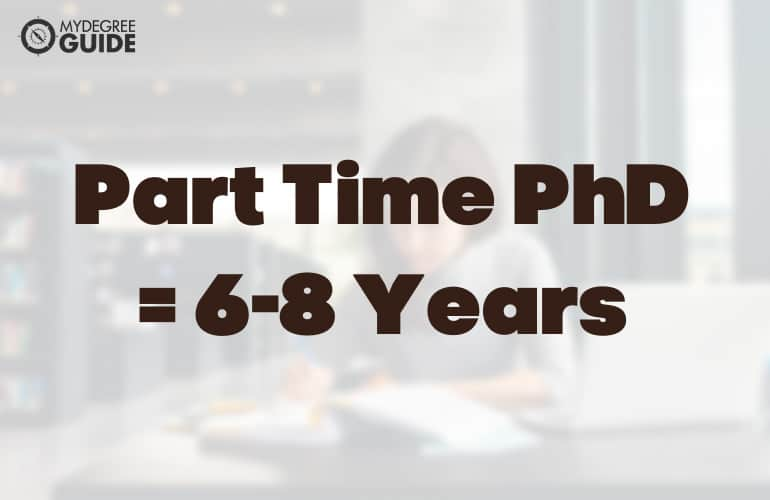 How Long Does It Take to Do a PhD Part Time