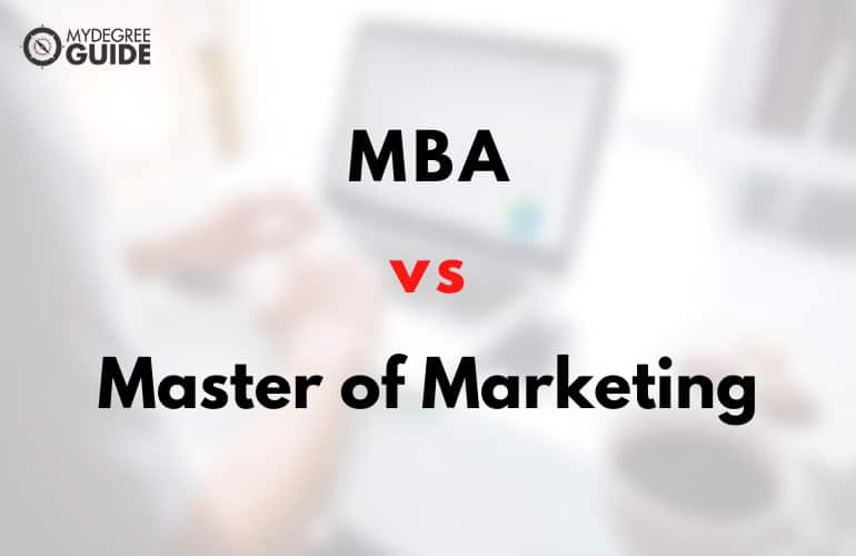 MBA or Masters in Marketing